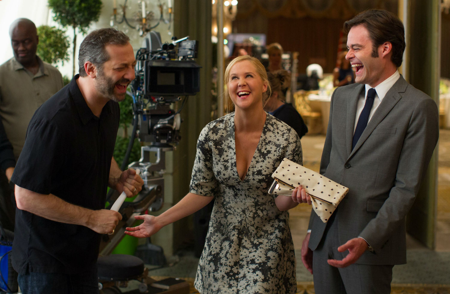 bill hader judd apatow behind the scenes