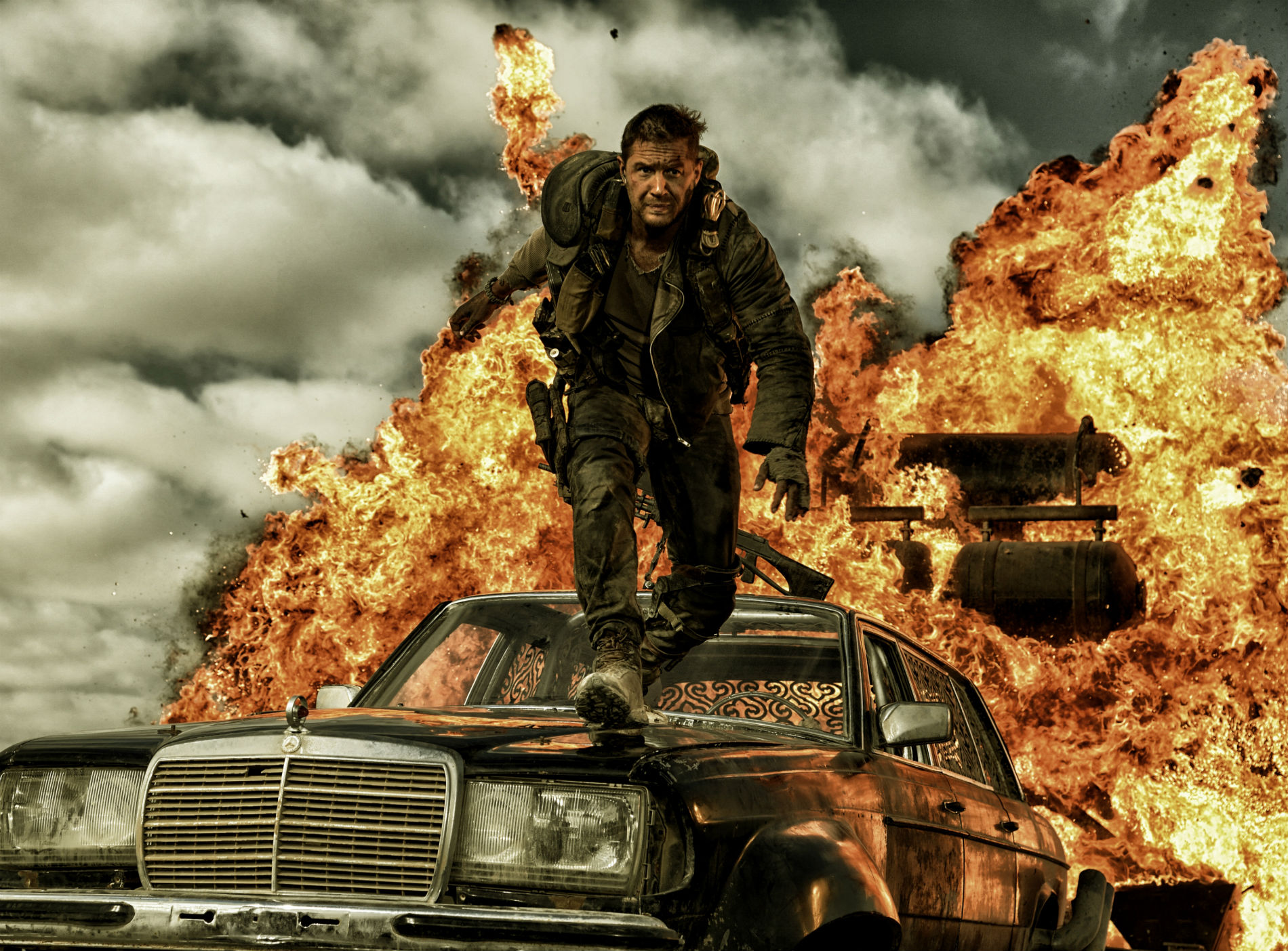 mad max fury road tom hardy explosion car