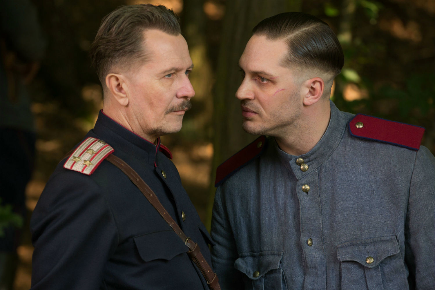 tom hardy gary oldman soviet uniform child 44