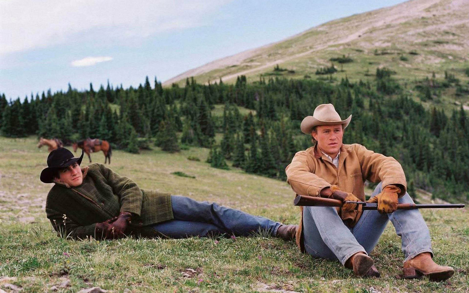 heath ledger wyoming mountains brokeback mountain