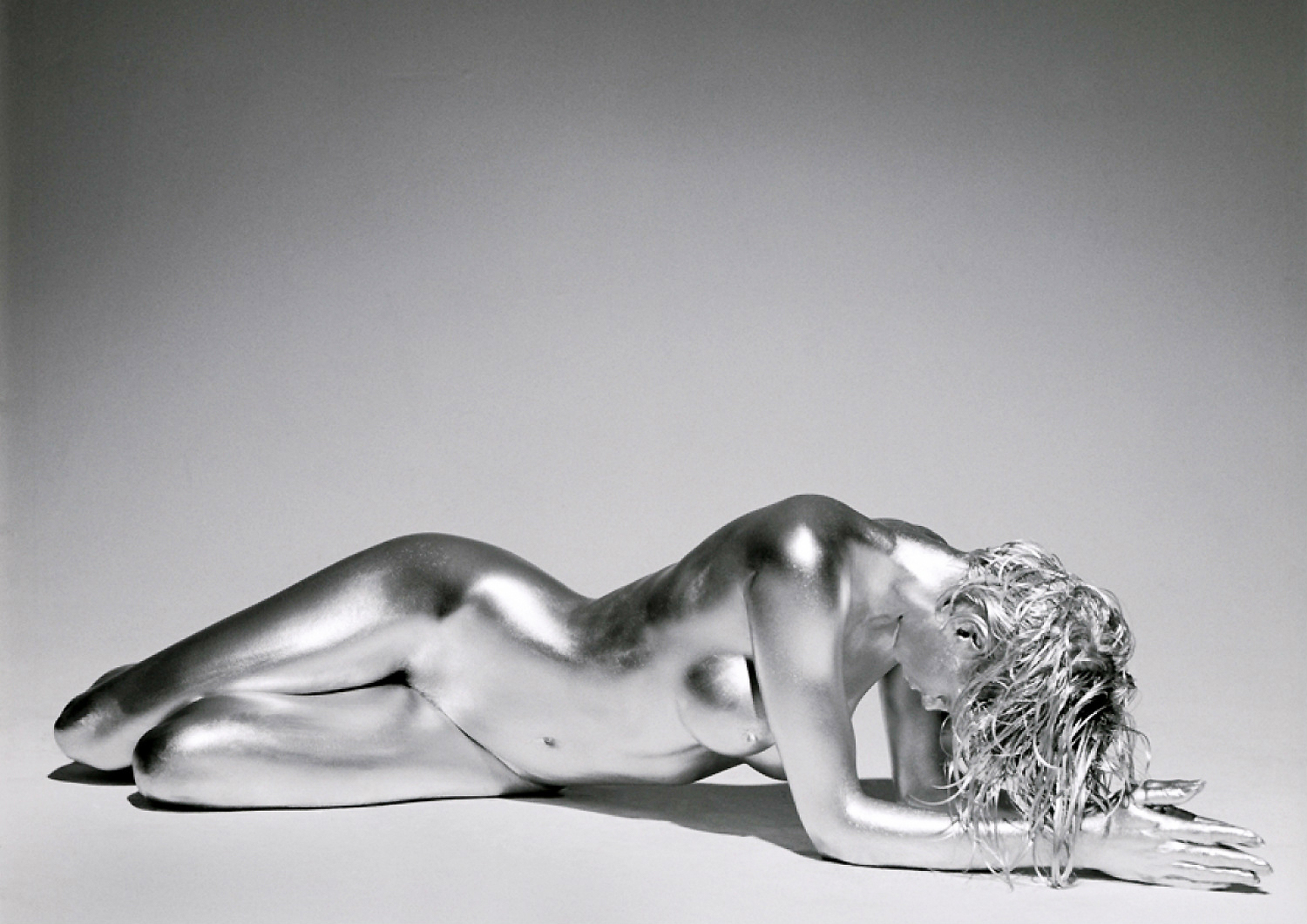 guido argentini fashion photography silver model