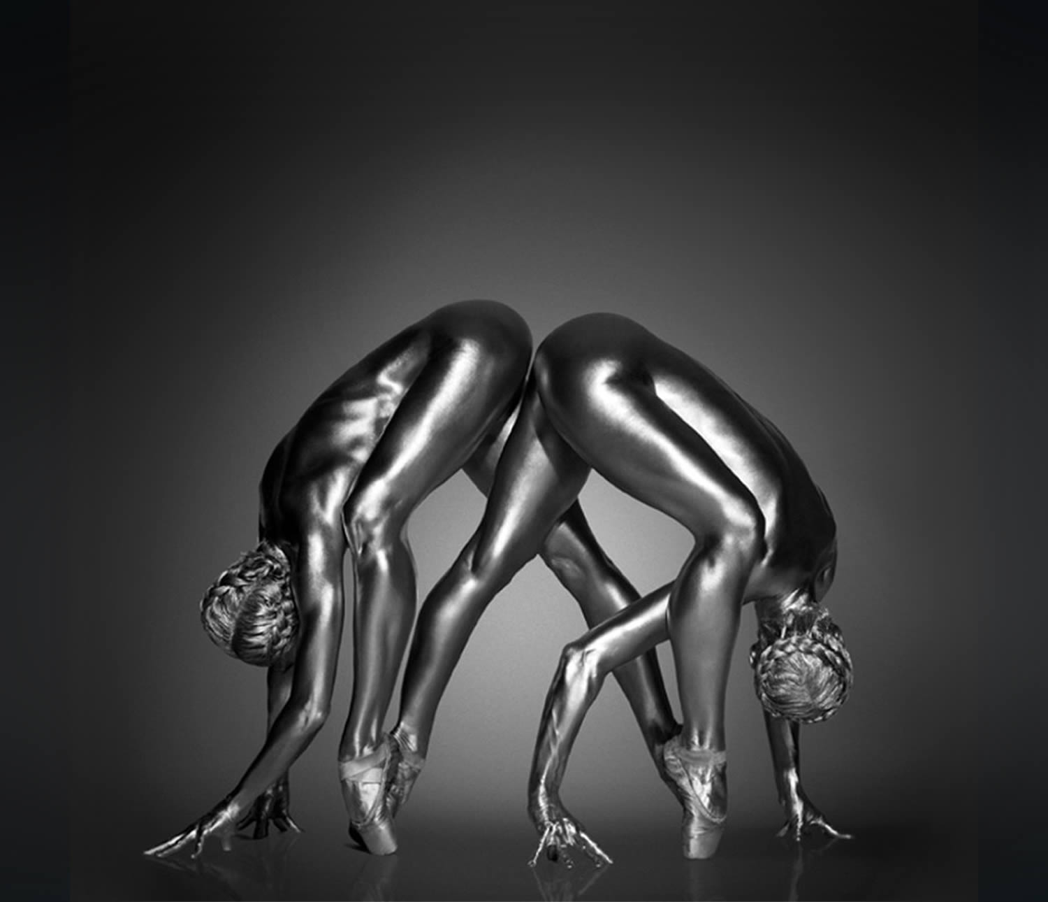 two silver models from argentum photo series, silver
