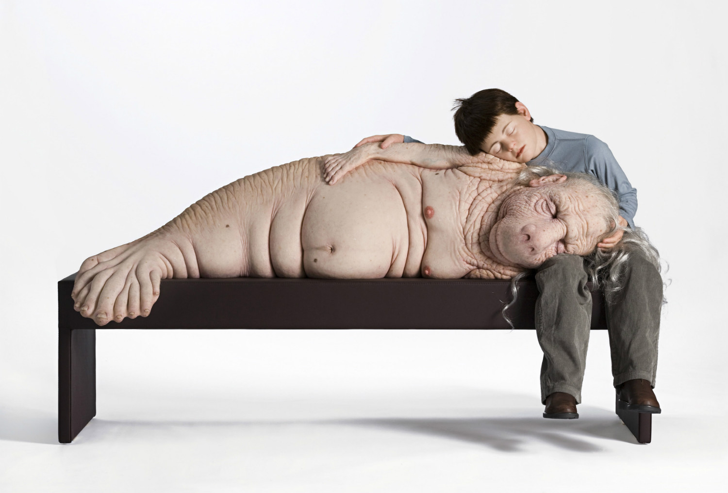 patricia piccinini sculpture the long awaited