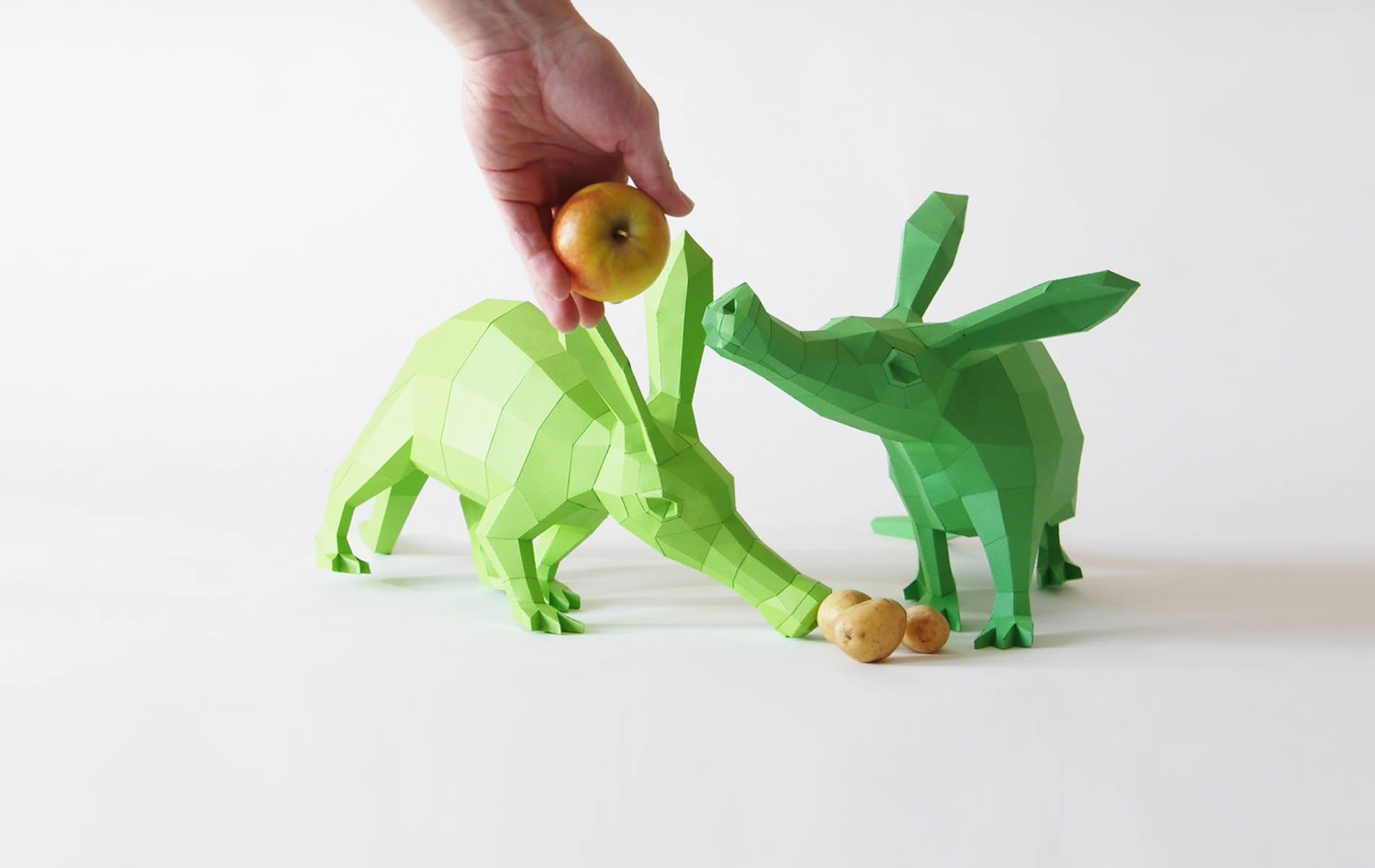 Cute Paper Animals