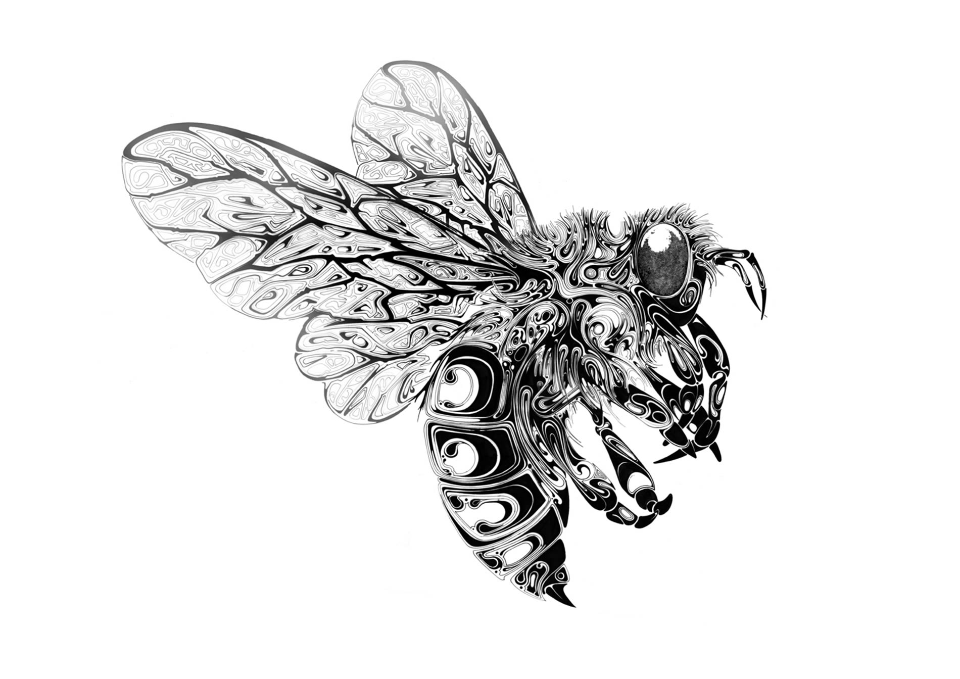 full bumblebee