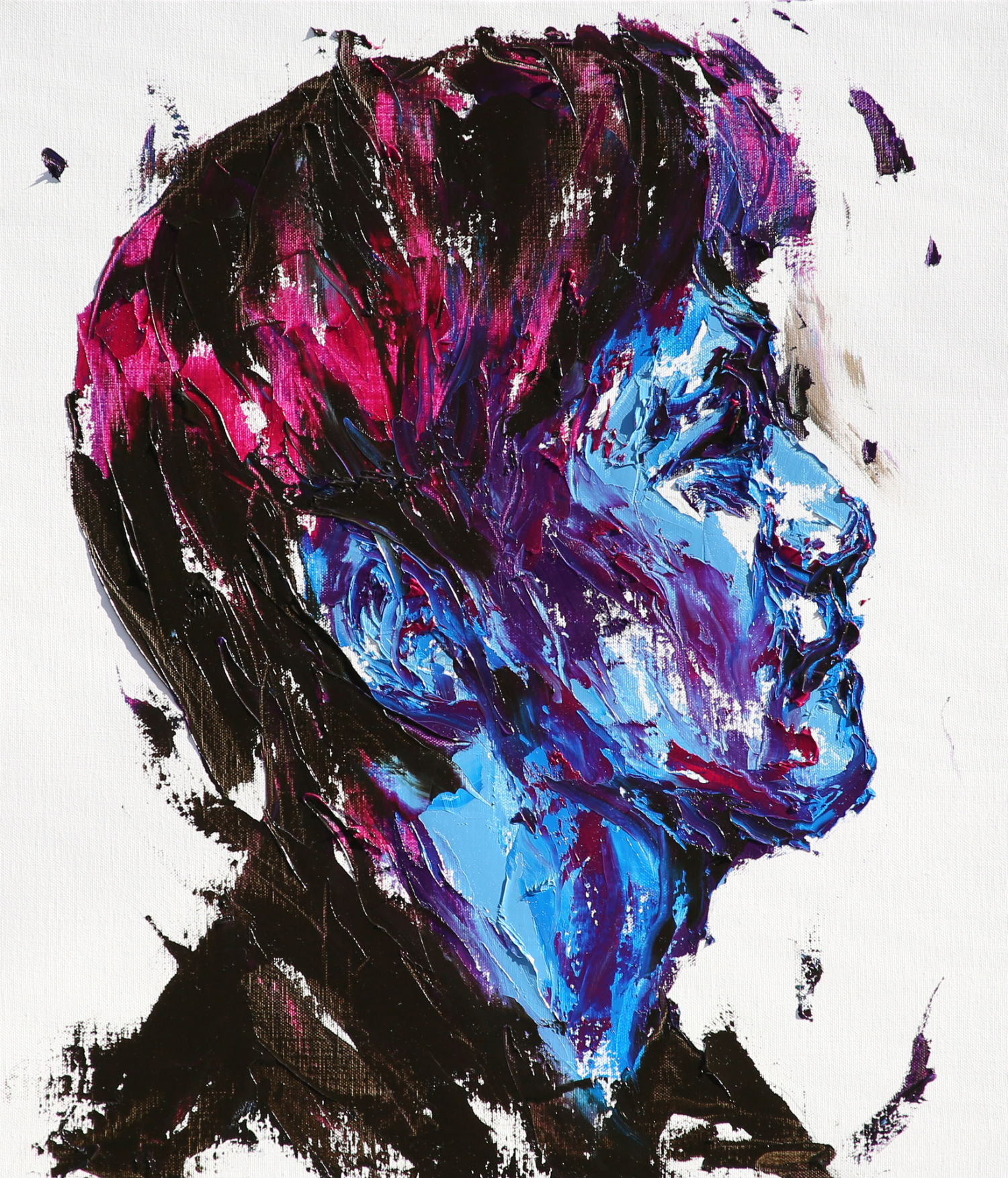 LIm Cheol hee paintings colour abstract portrait