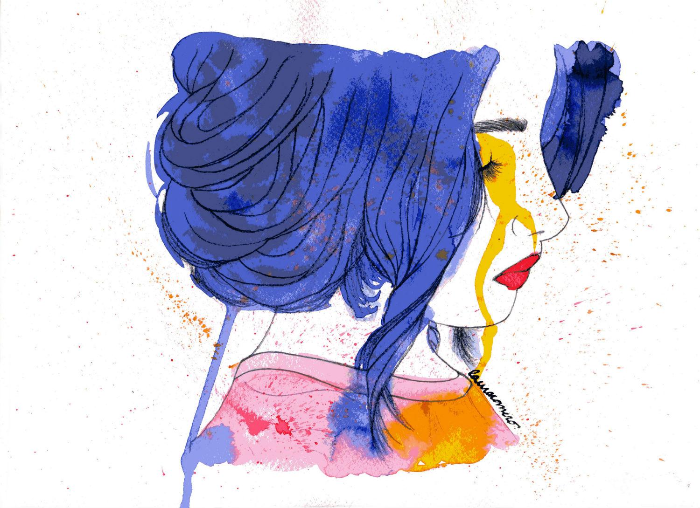 conrad roset colour illustration erotic nude