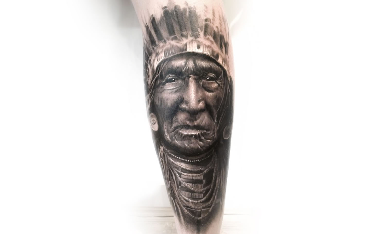 chief indian tattoo
