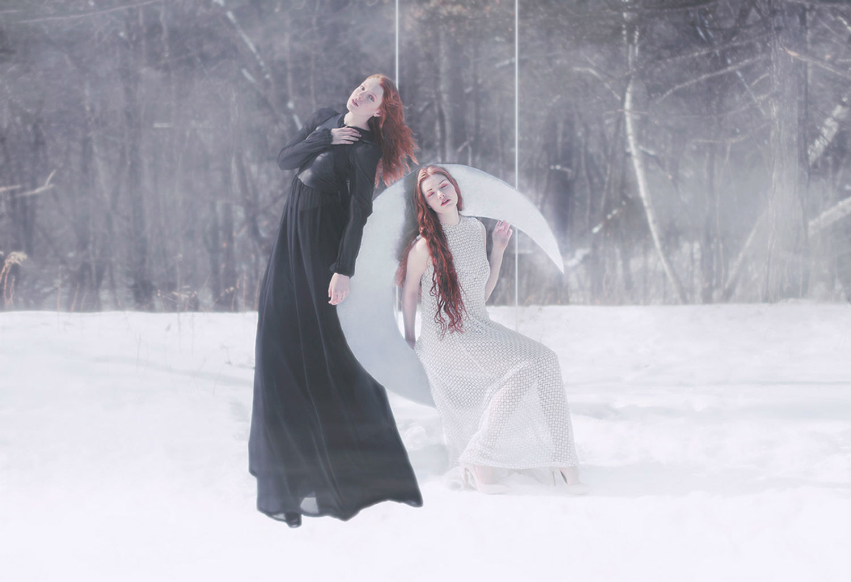 gerald larocque photography surreal fashion winter fantasy