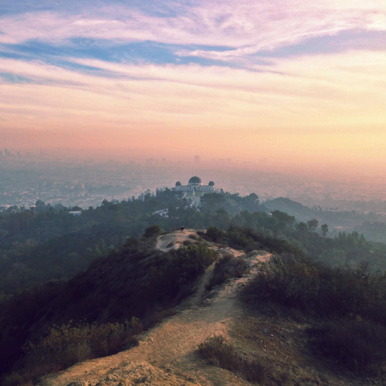 lauren randolph LA instagram sunset