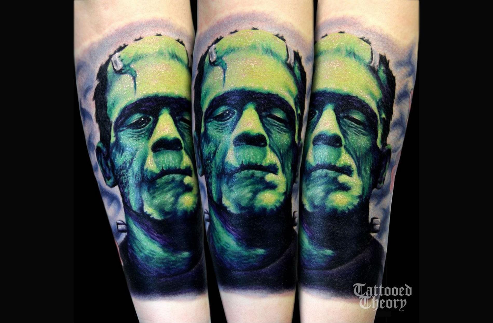 frankenstein monster tattoo