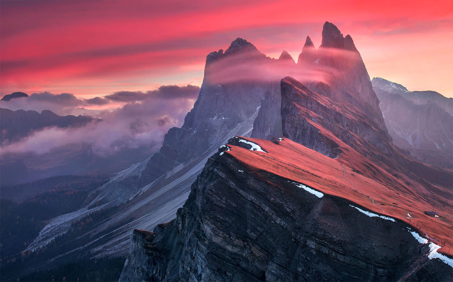 max rive photography landscape nature view colour pink sky