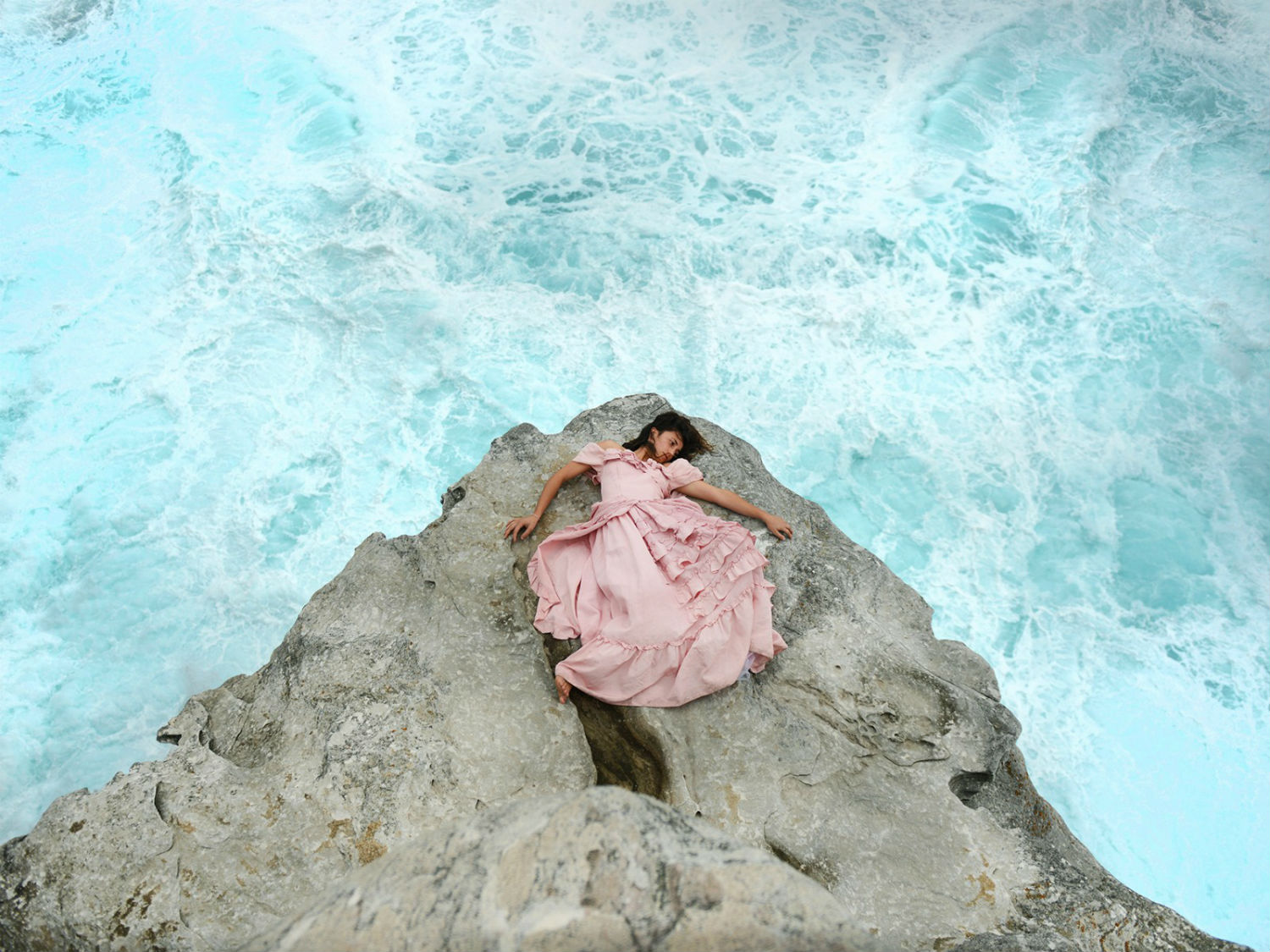 prue stent photography pink ocean waves