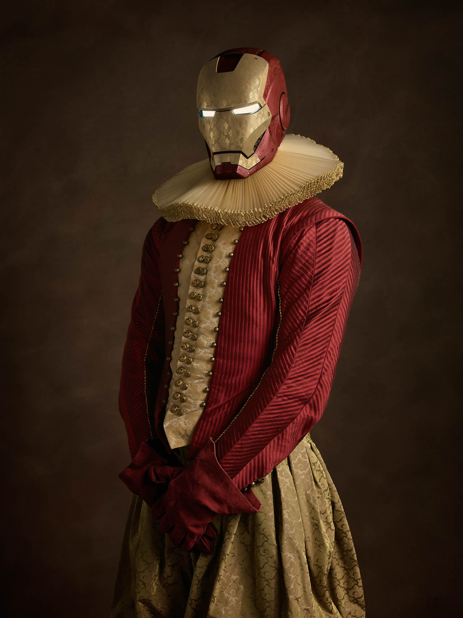 iron man, photo by sasha goldberger
