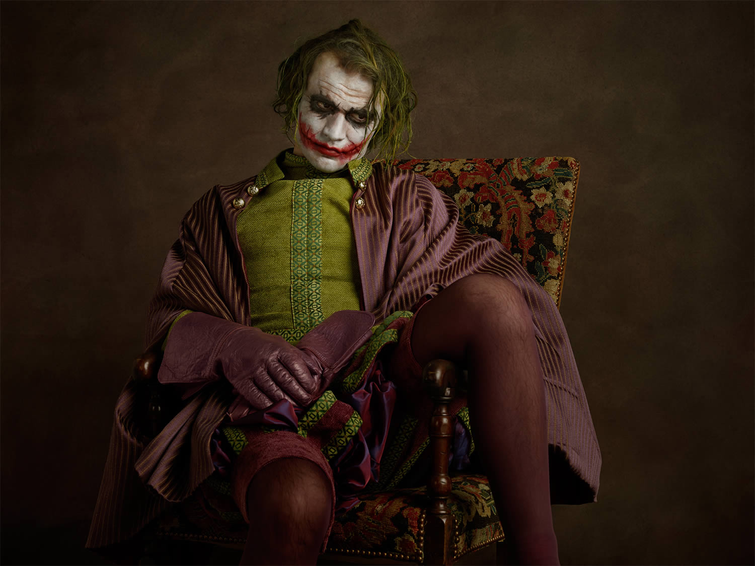 dark night joker, photo by sasha goldberger