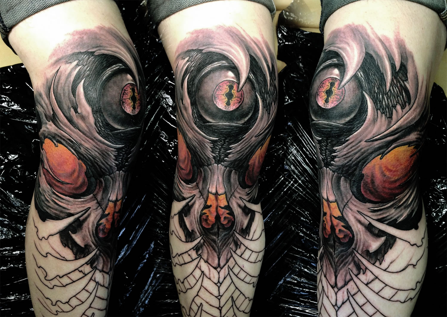 biomech tattoo