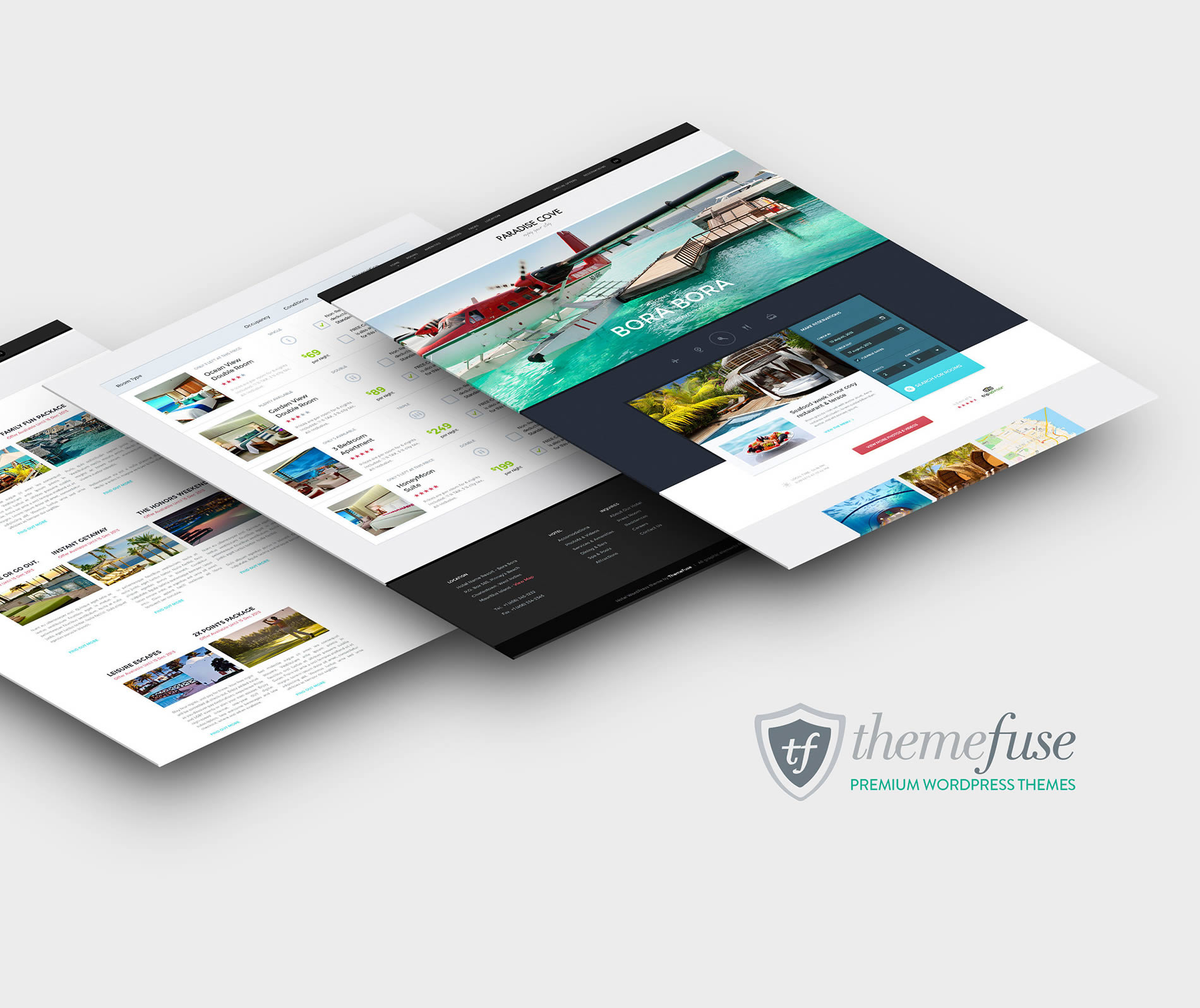 beautiful wordpress theme websites by themefuse, enter giveaway