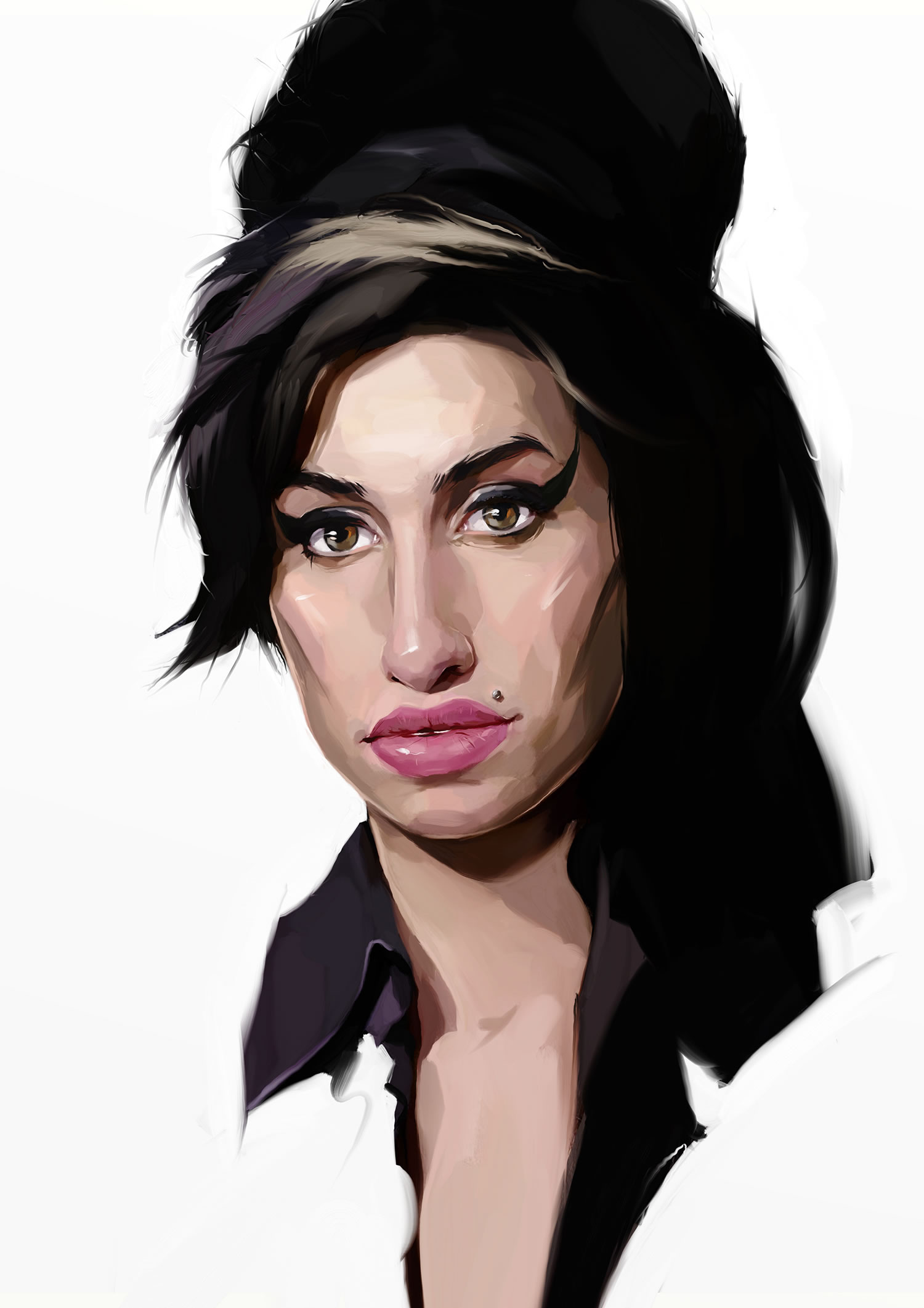 amy whinehouse caricature
