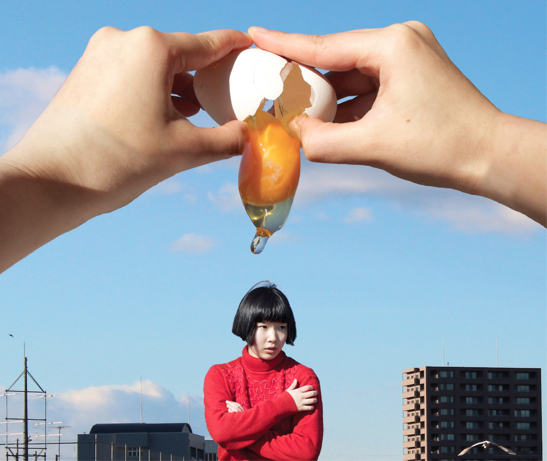 Quirky Self-Portraits by Japanese Photographer