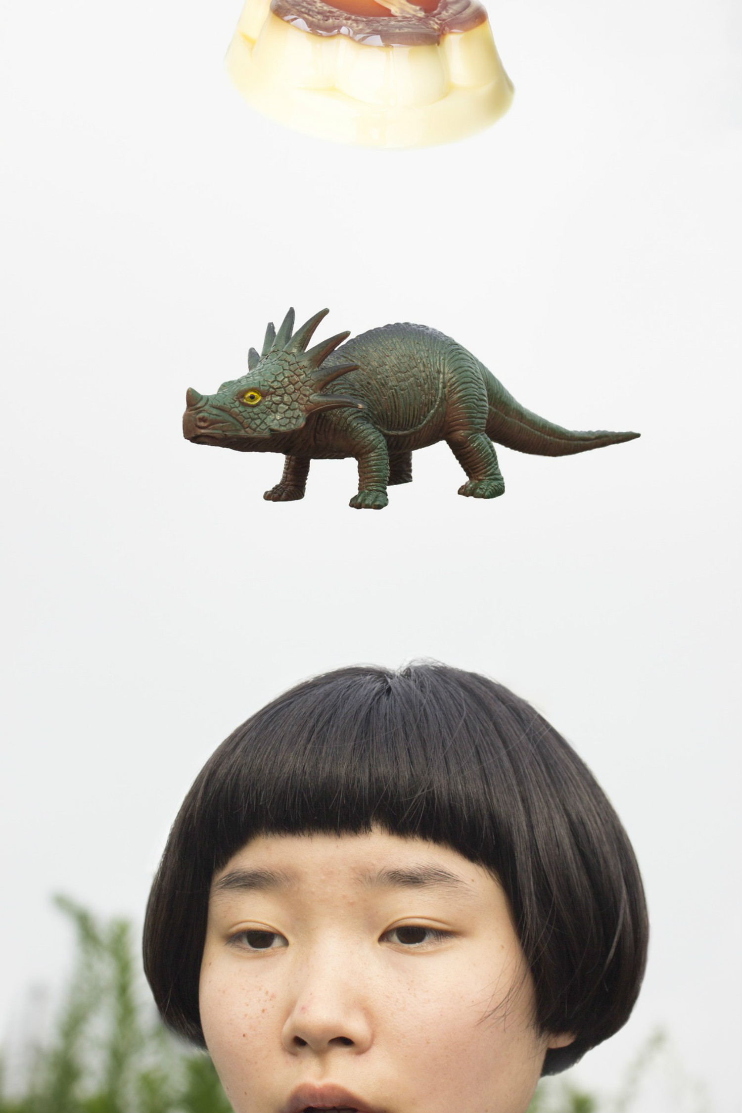 Izumi Miyazaki self portrait japan quirky dinosaur
