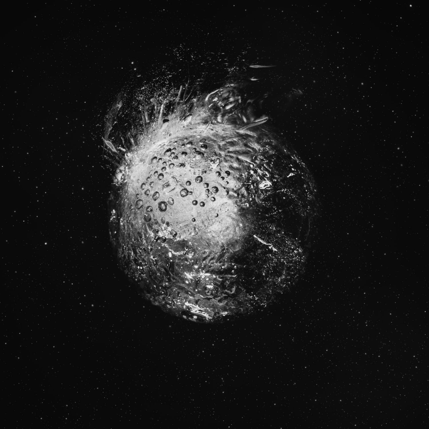 Nydia Lilian supernova black space drawings silver science fiction