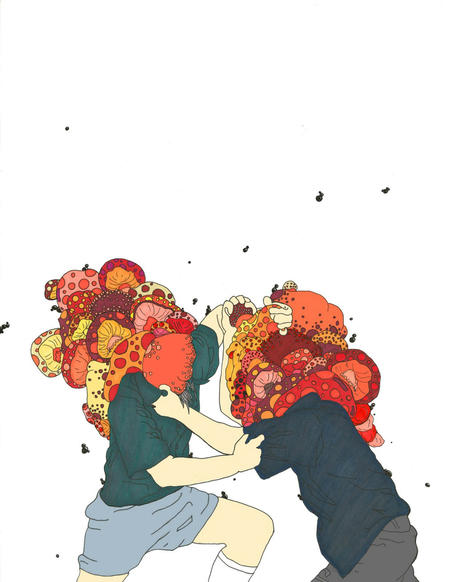 Rachel Fagiano illustration art colour