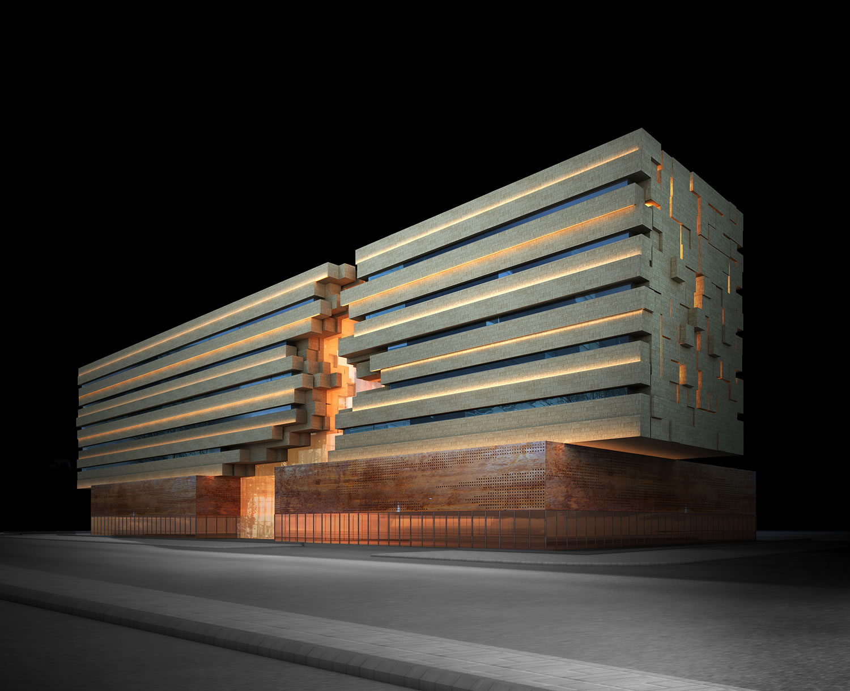Park Inn Hotel - Riyadh Hotel by MZ Architects