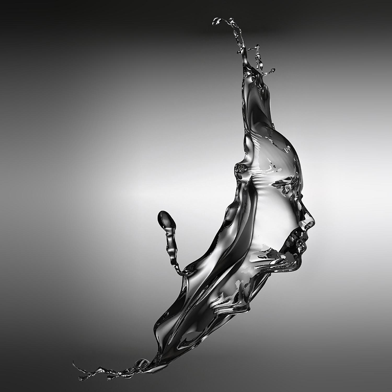 liquid portrait by gregoire meyer