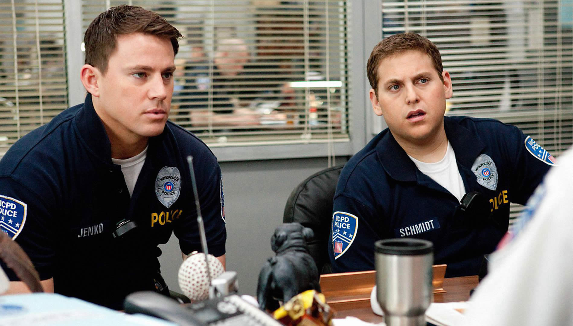 police officers in 22 jump street movie