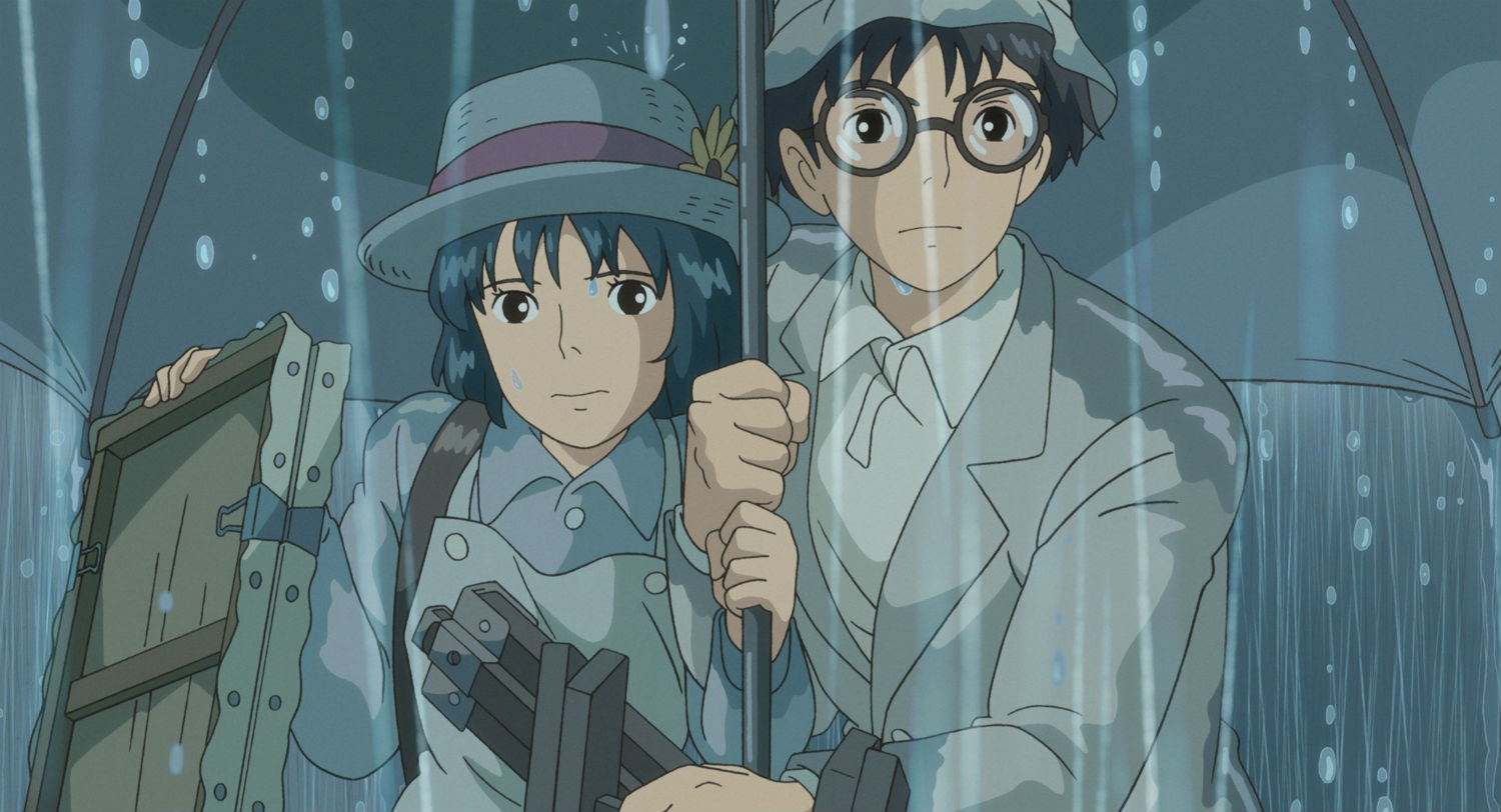 japanese cinema the wind rises rain animation