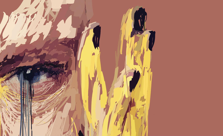 Marcello Castellani digital art paint portrait
