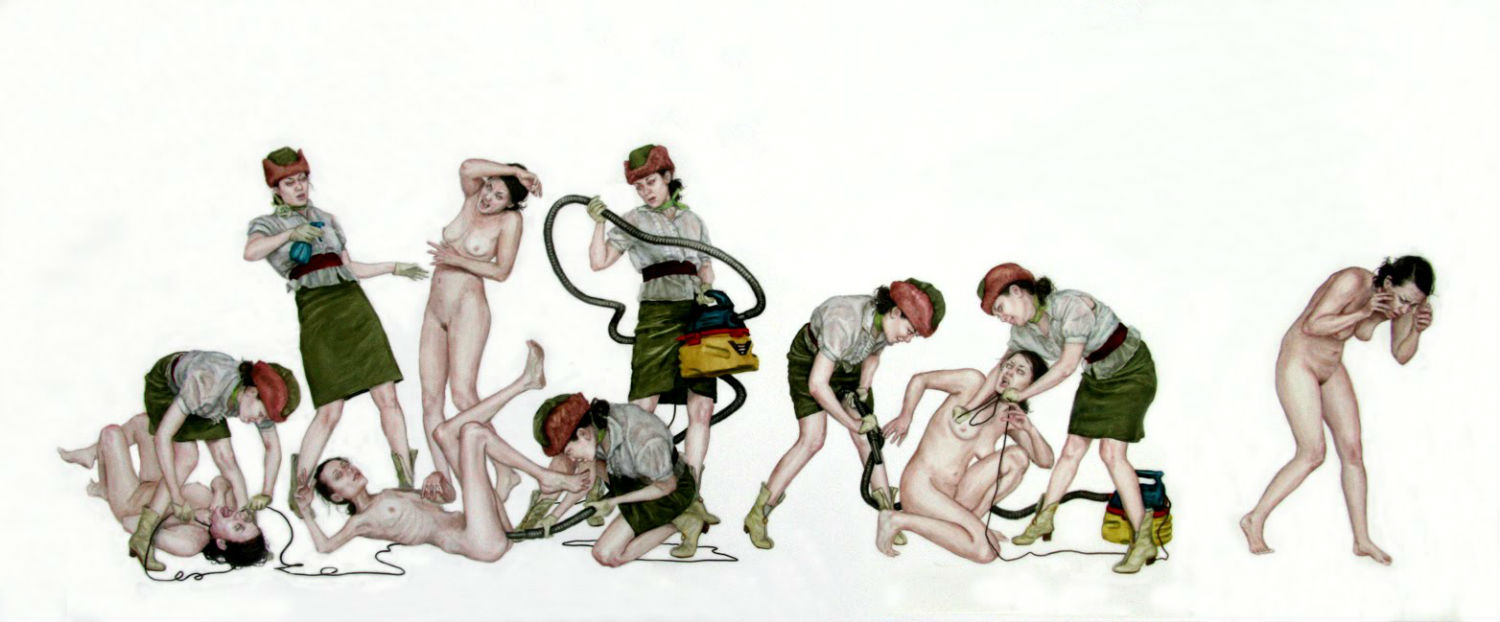 monica cook illustration nude grotesque