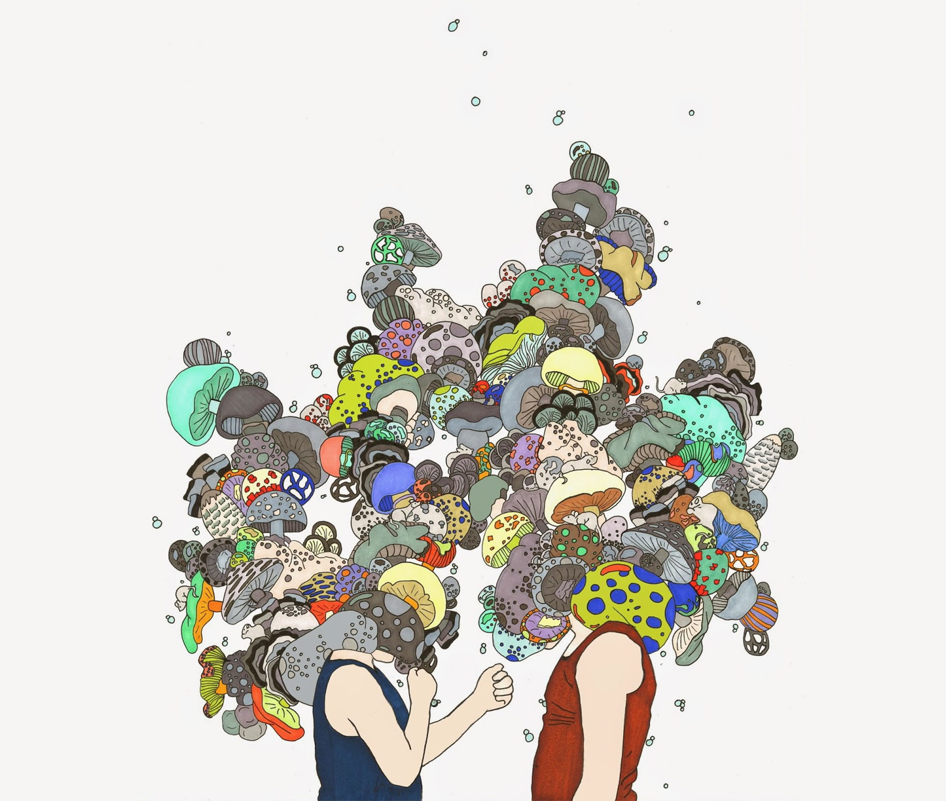 Head Full of Dreams: Illustrations by Rachel Fagiano