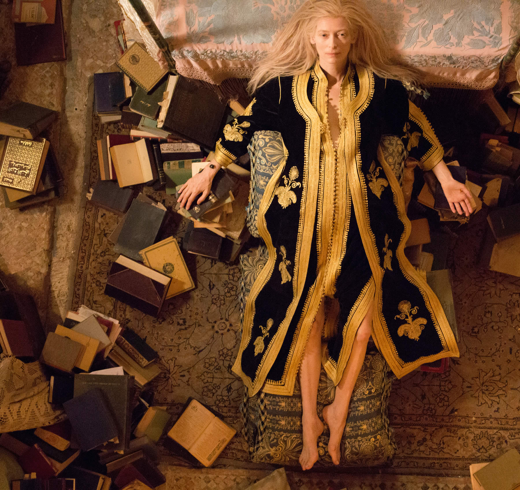 "Tilda Swinton as Eve in Jim Jarmusch's ""Only Lovers Left Alive."""