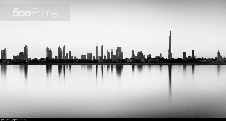 silhouette skyline