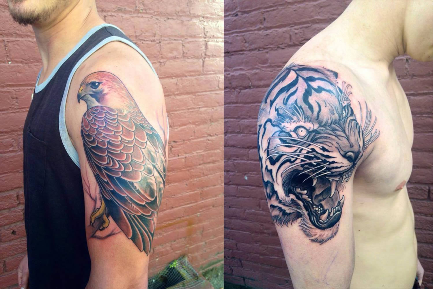 15 Cool Animal Tattoos By Various Artists Scene360 - Tattos-animales