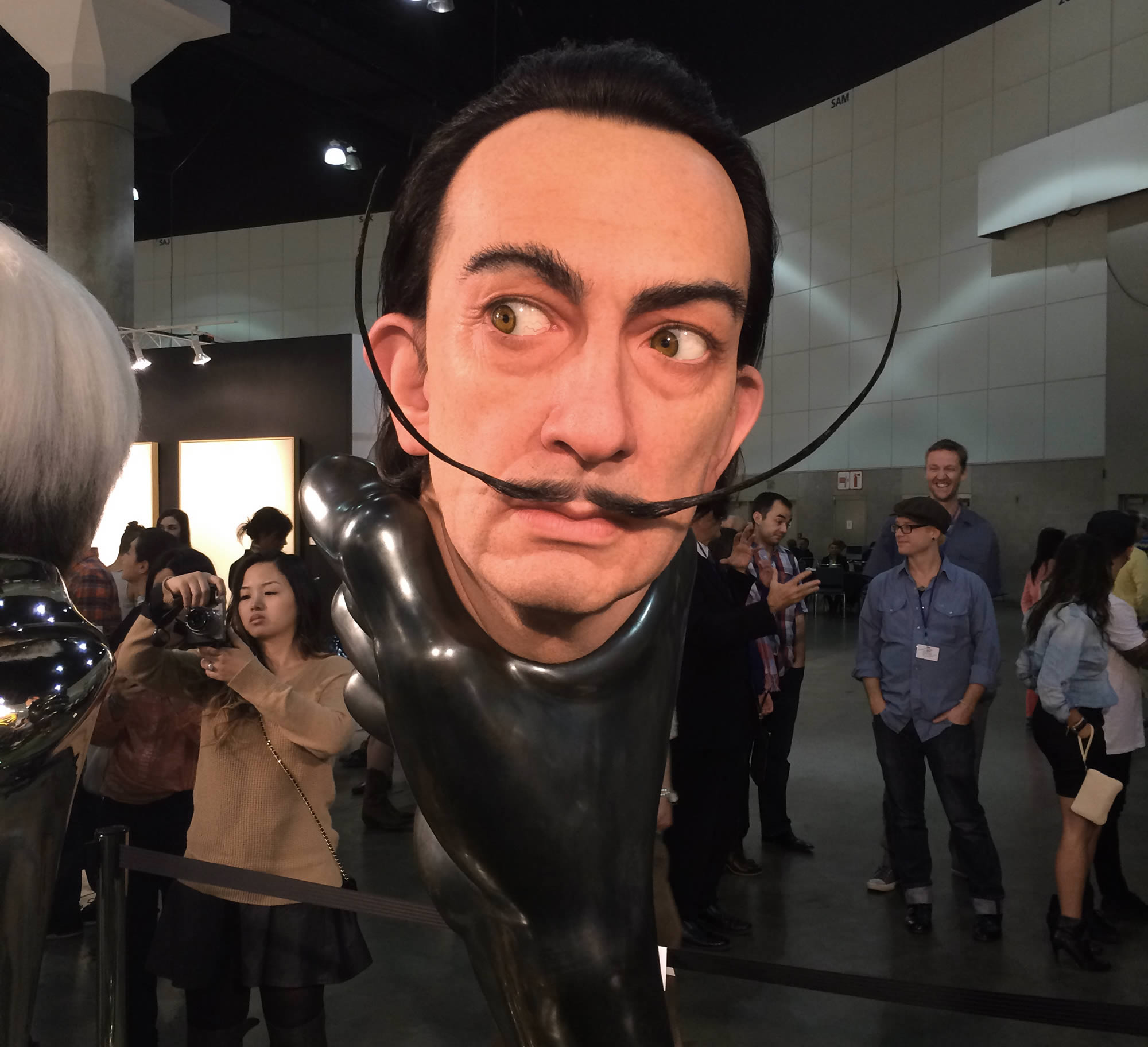 15 Outstanding Artistic Creations Displayed at the 2015 LA Art Show