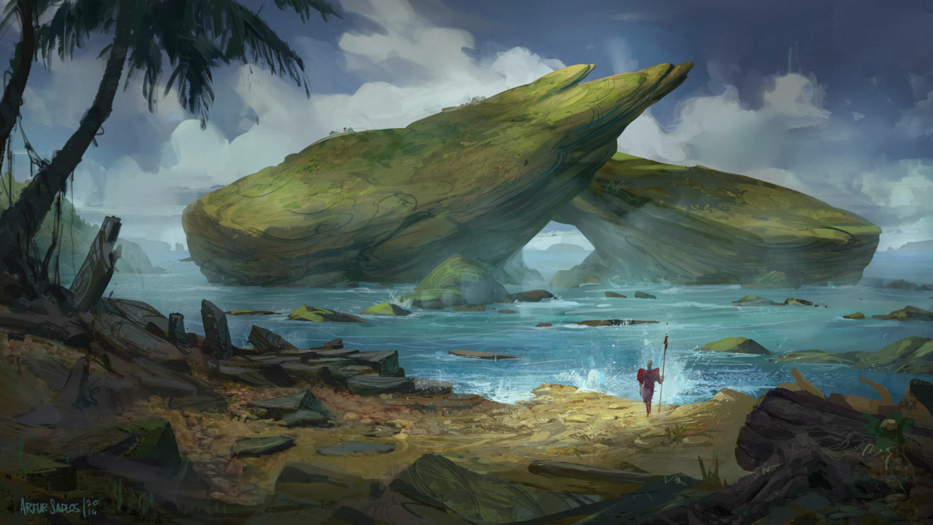 A Journey into Artur Sadlos' Fantasy Lands