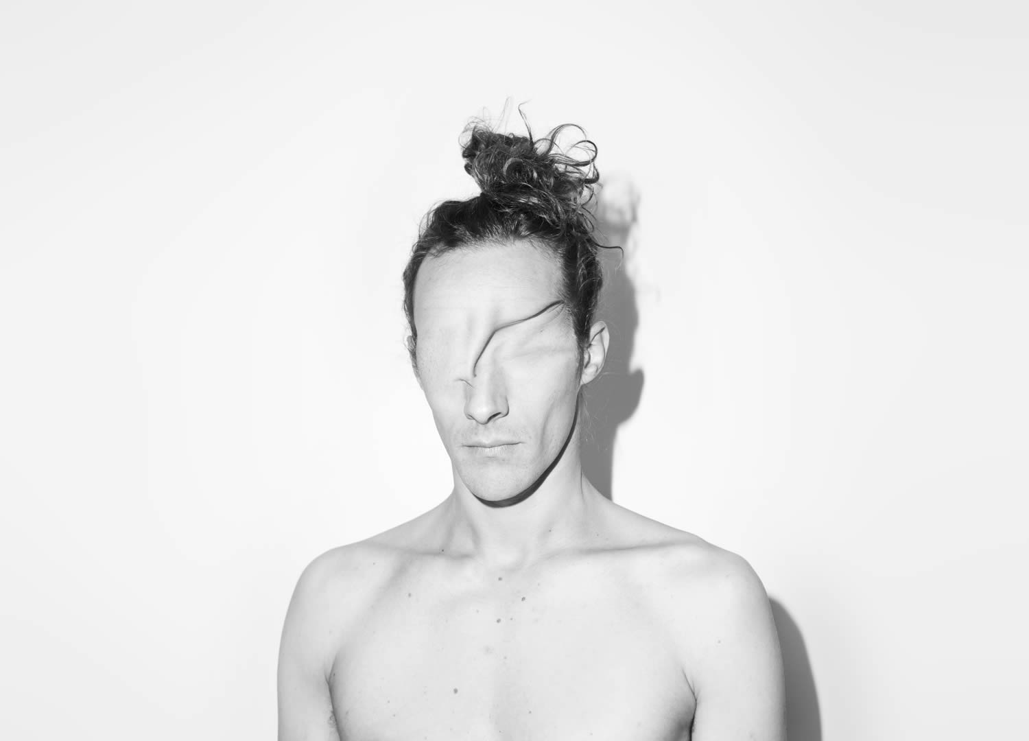 skin over face, the viking album cover by asger carlsen