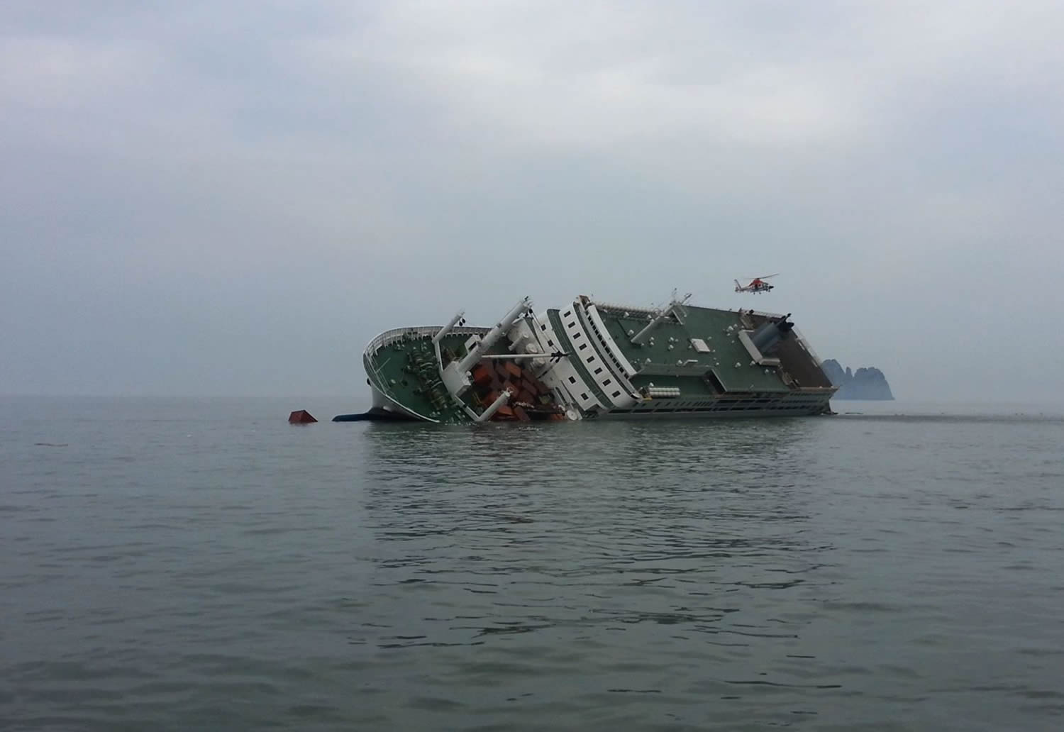 ship sinking in 'The Truth Shall Not Sink With Sewol'