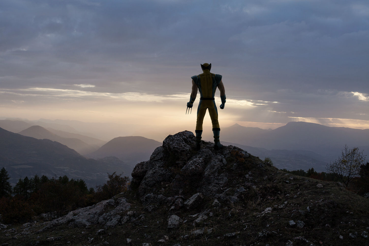 benoit lapray superheroes photography nature solitude wolverine