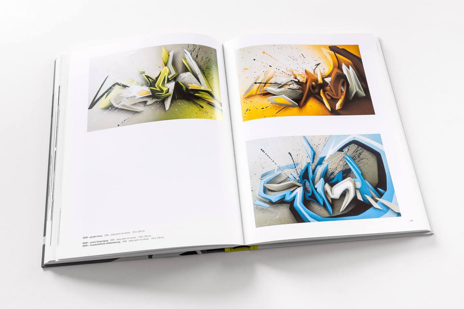 daim's art featured in book