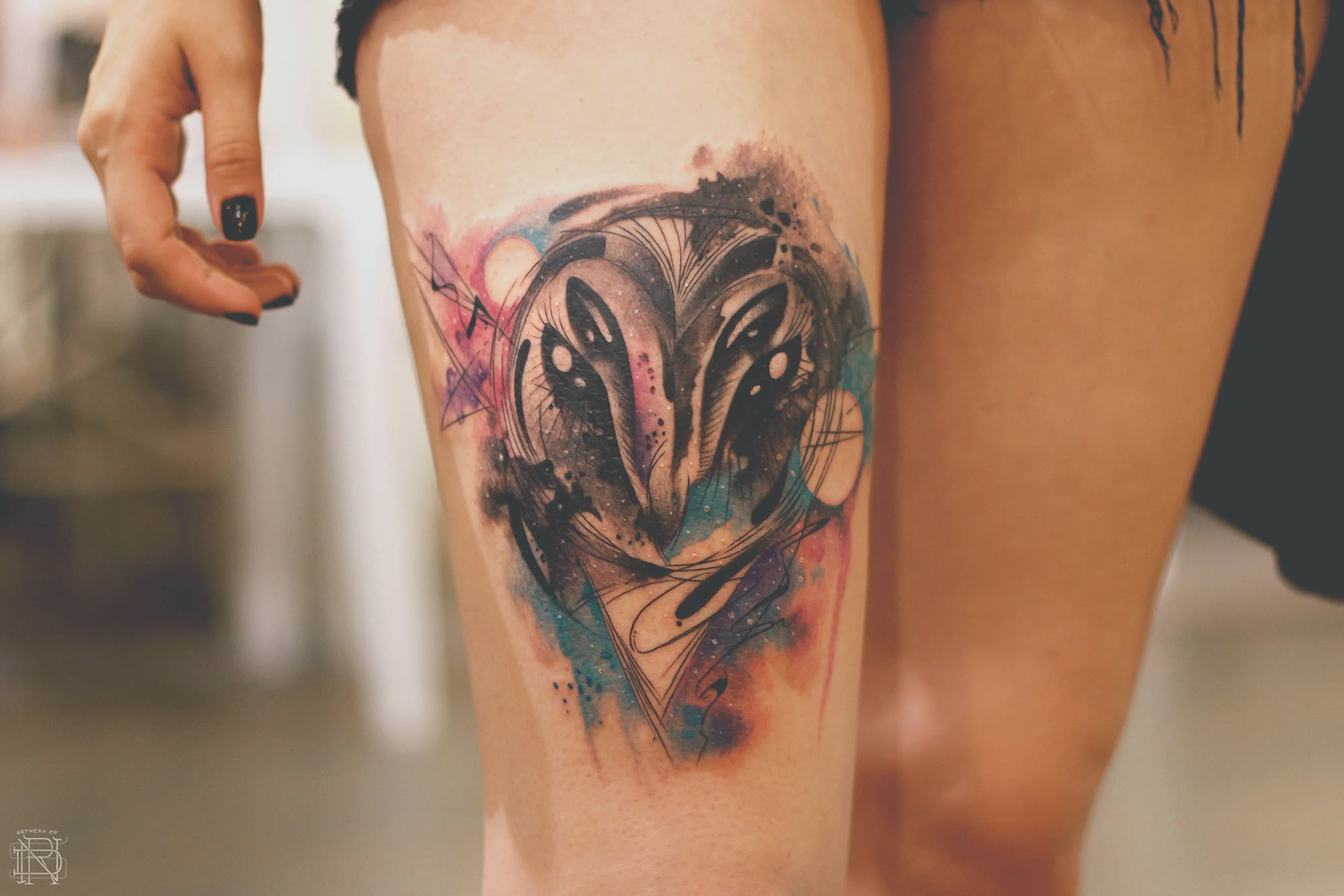 Interview with Watercolor Tattooer Dener Silva