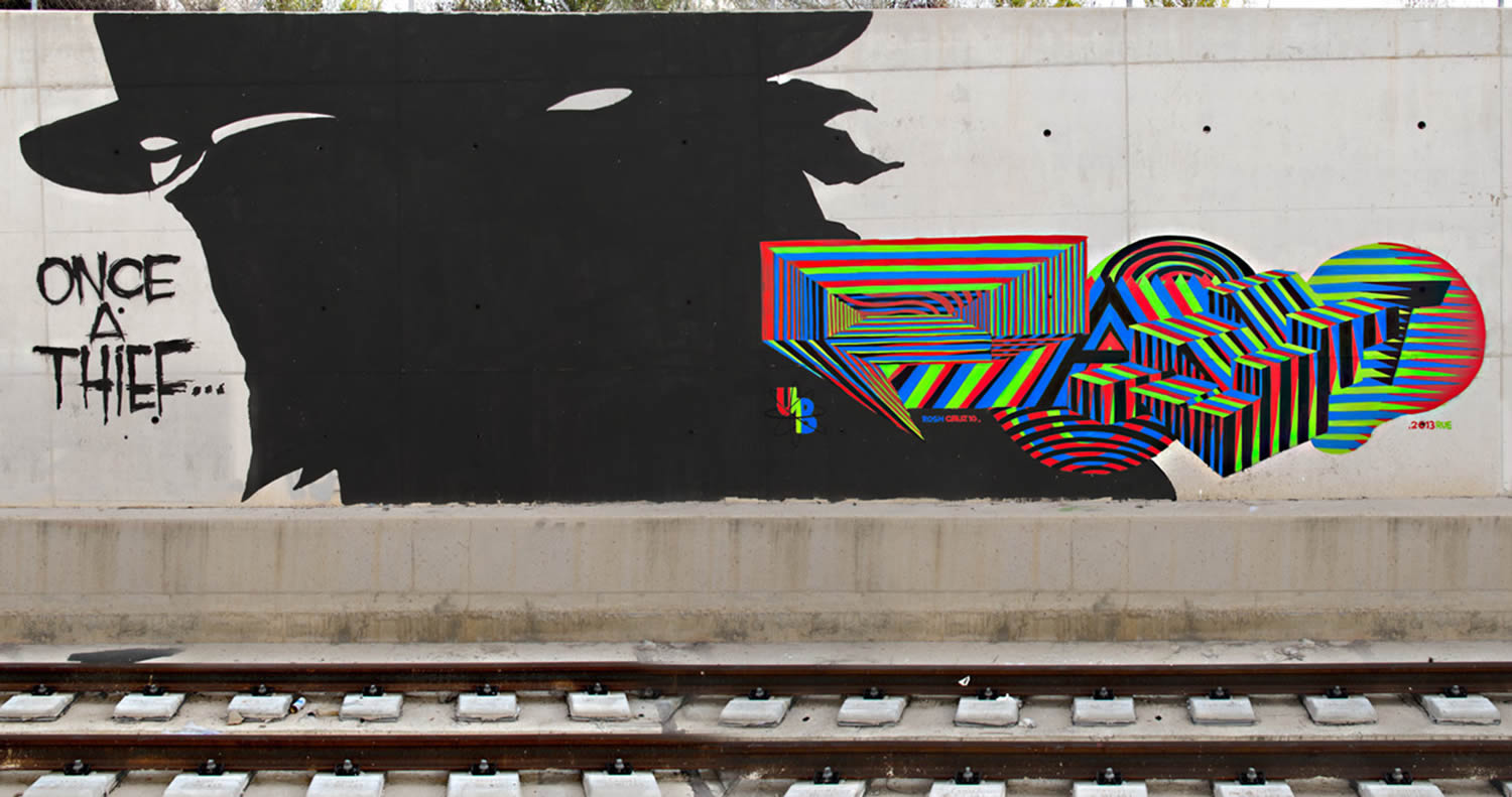 shapes and colors,graffiti by pantone f