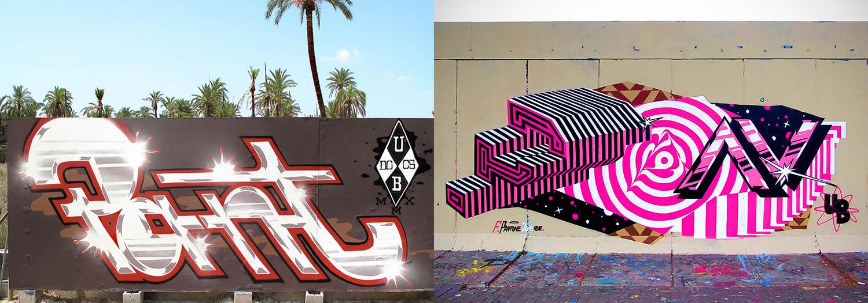 bling graffiti, 3d style by pantone f