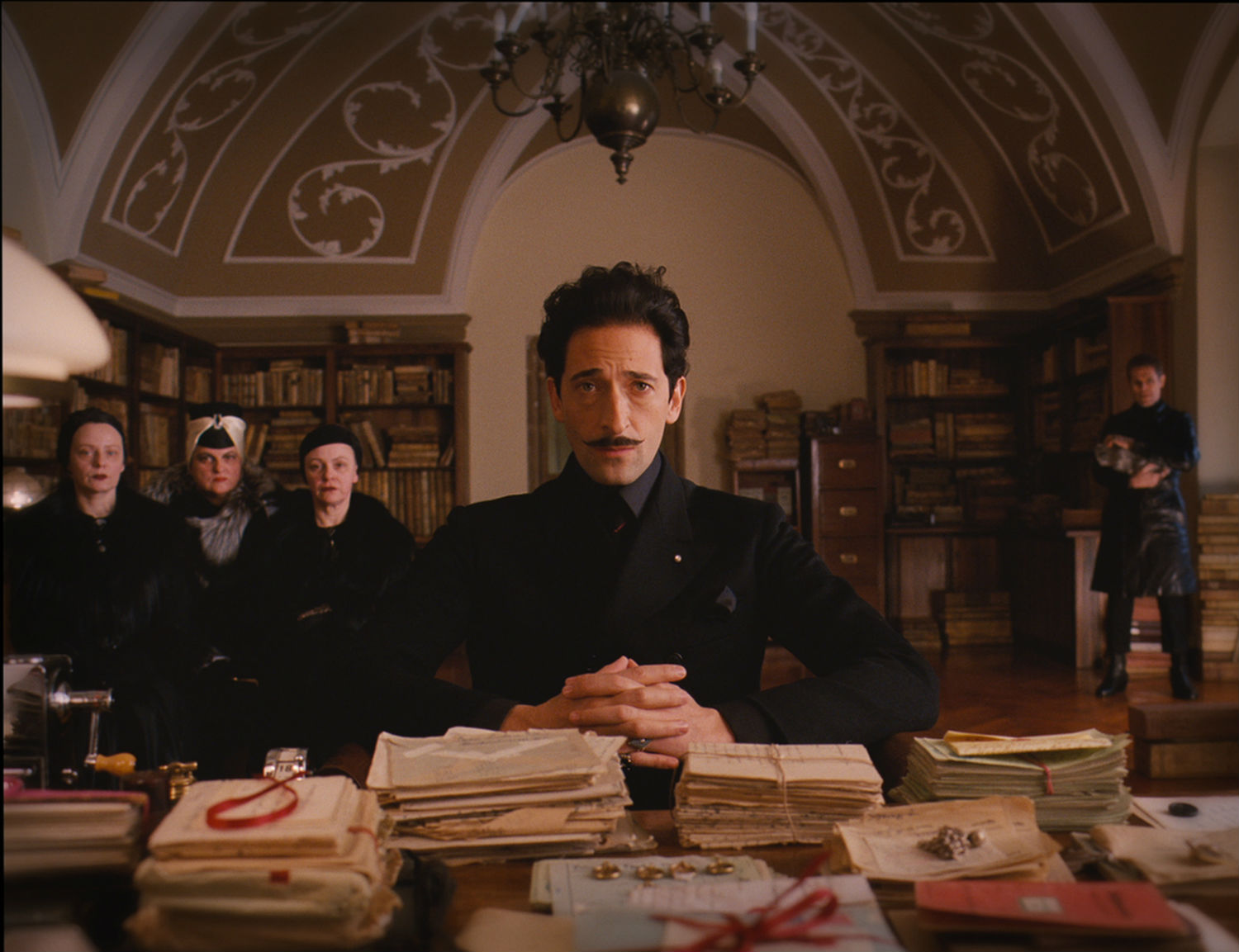 adrian brody the grand budapest hotel