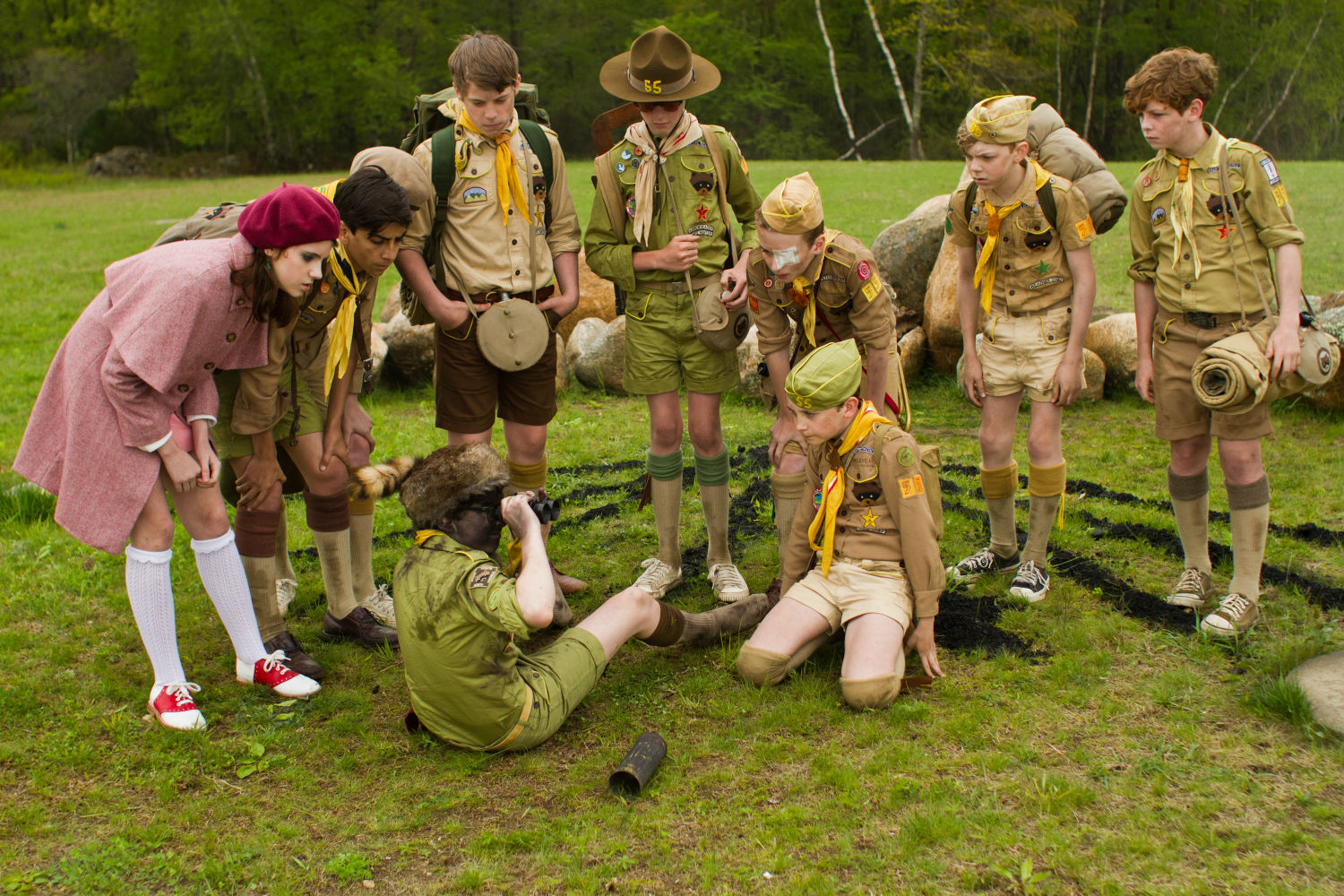 moonrise kingdom wes anderson scouts
