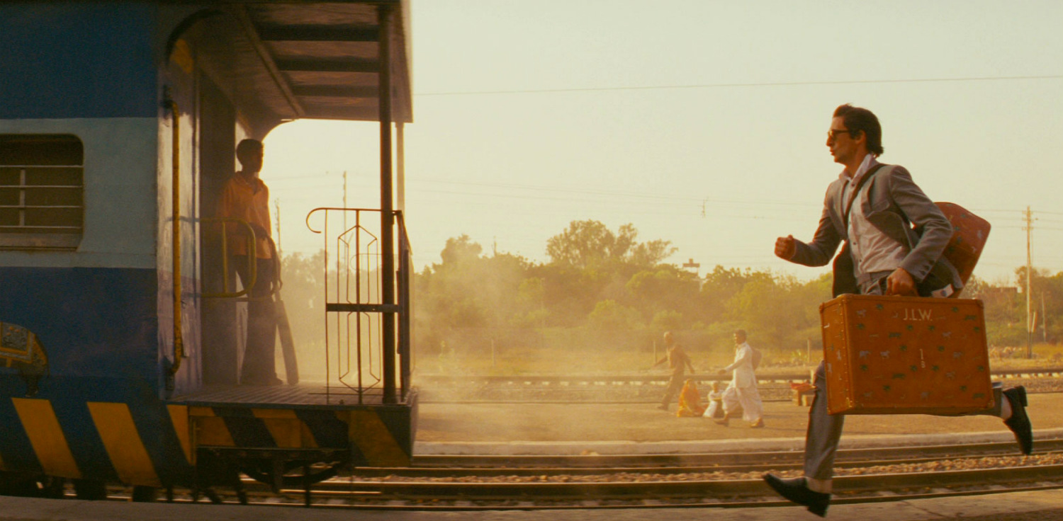 the darjeeling limited train india adrian brody
