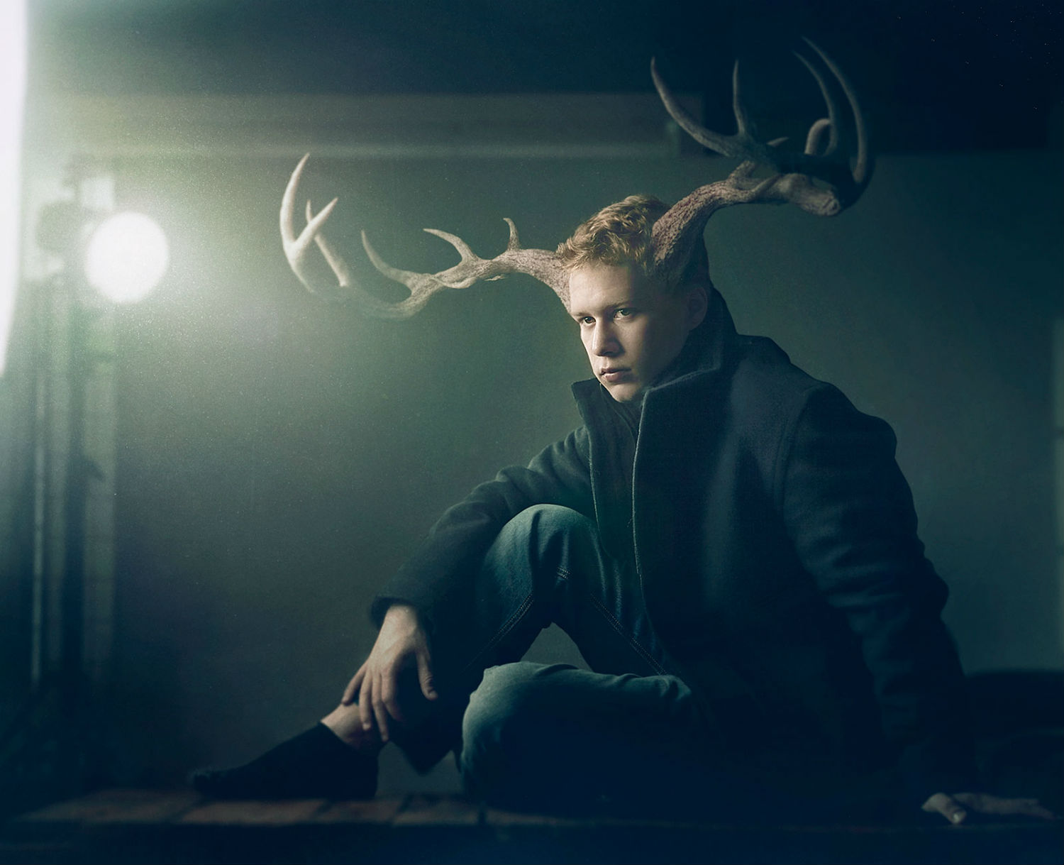 aaron nace photography digital colour surreal antlers