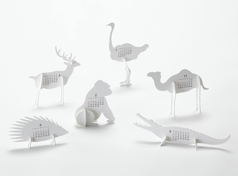 Calendar Zoo by Katsumi Tamura